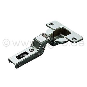 Topfscharniere für dicke Holztüren bis 40 mm Duomatic Scharnier, Mittel-/Zwillingsanschlag - zum Schrauben