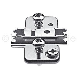 CLIP top Exzenter-Kreuzmontageplatte 0 mm / 8,5 mm 174H710ZE - 0 mm HV Zw-Anschlag