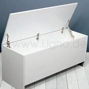 Klappenbeschlag, für Deckel aus Holz oder mit Aluminiumrahmen