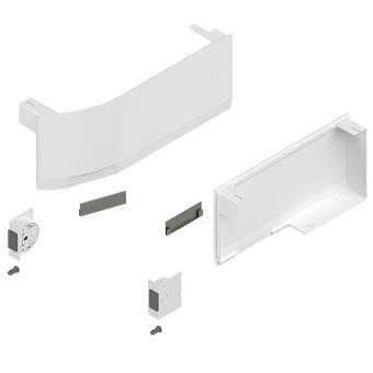23K8000 Aventos HK Abdeckkappen-Set weiß für SD