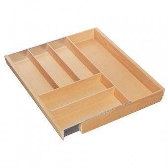 Besteckkasten Holz breitenverstellbar KB 450-700 mm