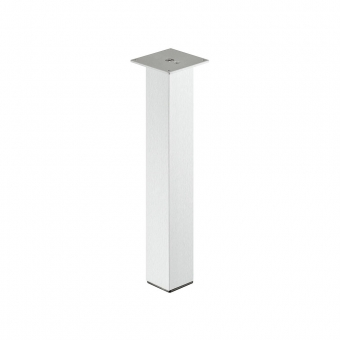 Tischbein, Alu - quadratisch - H 400-720 mm