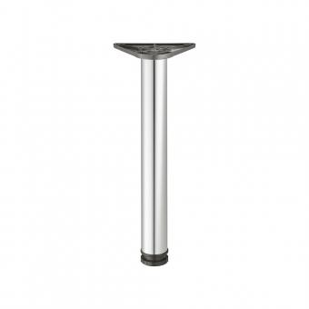 Tischfuß Rondella, Stahl - zylindrisch - verchromt poliert - ø 60 mm - H 900 mm verchromt poliert - 900 mm - ø 60 mm