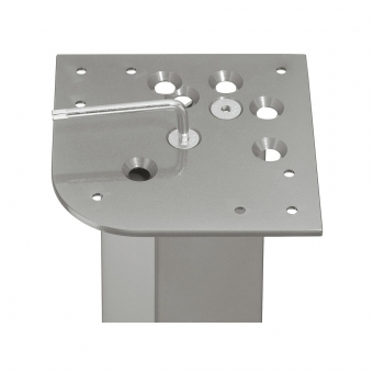 Anschraubplatte 74678301000 , Stahl versch. Montagevarianten - H 5 mm