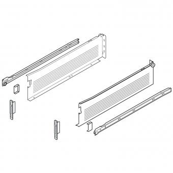 METABOX Teilauszug K, H 118 mm, NL 350-550 mm