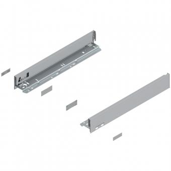 Legrabox Zarge N (66,5 mm) NL 400-550 mm, polarsilber
