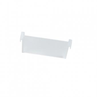 Trennsteg, 100er - weiß-transluzent cuisio Trennsteg B 96 mm, weiß