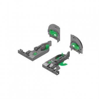 Dynapro 3D Zubehörset Rastkupplung + Verstelladapter