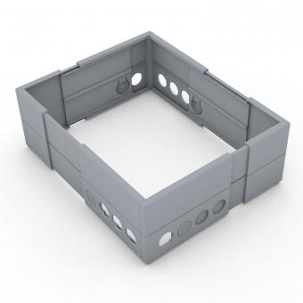 easyFLEX Schubkasteneinsatz  B/T 234-333mm verstellbar