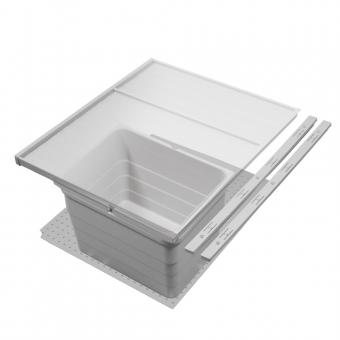 Mülleimer Set, KB 450 / NL 400 / H 220 mm 19er Seiten Abfalltrennsystem 450 / 400 - 19er - 12 L