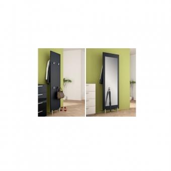 Garderoben-Beschlagsatz für Holzplatten