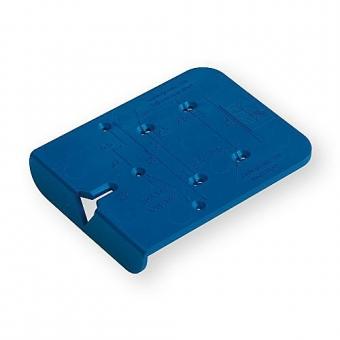 Hettich BlueJig Ankörnlehre für Anschraub-Kreuzmontageplatten