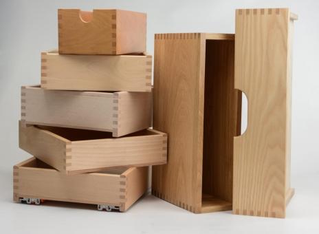 Schubladen aus Holz - Holzschublade