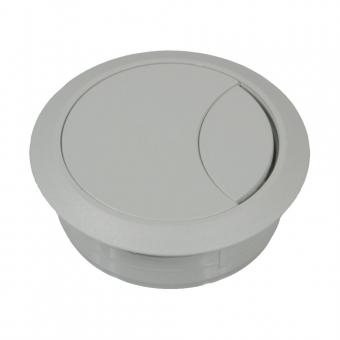 Kabeldose hellgrau 60/72 mm Kabeldurchlass Kunststoff hellgrau 60/72 mm
