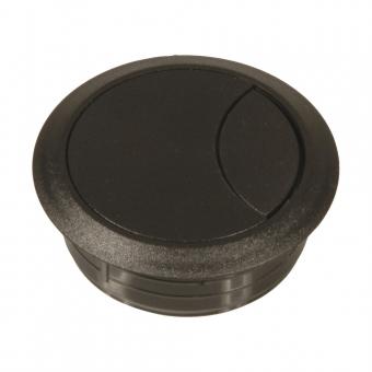 Kunststoff-Kabeldurchlass schwarz 60/72 mm Kabeldurchlass Kunststoff schwarz 60/72 mm