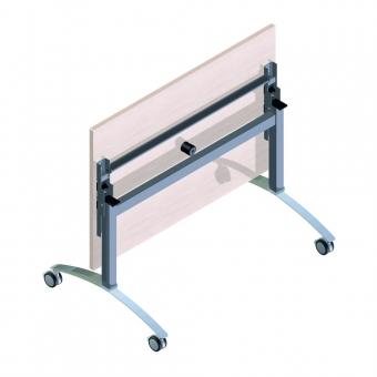 Tischgestell mit Klappmechanik