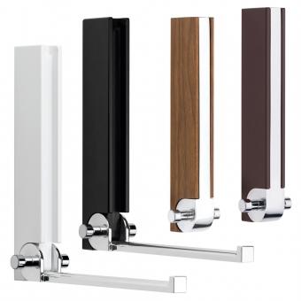 Kleiderhaken klappbar, Holz und Metall - B 28 mm - H 245 mm