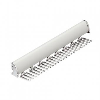 Krawattenhalter silber - B 454 mm