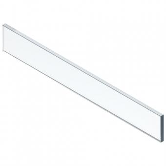 Einschubelement Glas klar LBX Höhe 70 mm für 16 mm Seiten