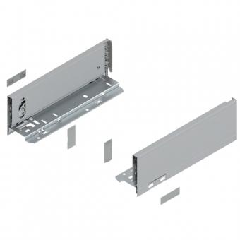 Legrabox Zarge M (90,3 mm) NL 270-650 mm, polarsilber