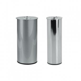 Möbelfüße, Stahl H 210 / 180 mm  Ø 60 und 80 mm