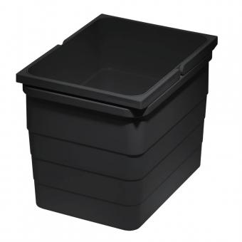 Abfallbehälter 12 Liter, H 220 mm dunkelgrau