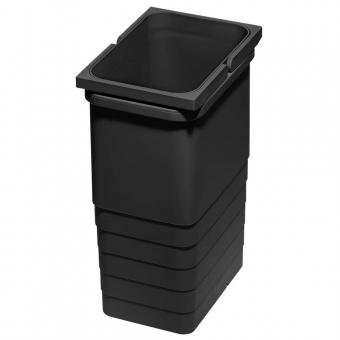 Abfallbehälter 6 Liter, H 275 mm dunkelgrau