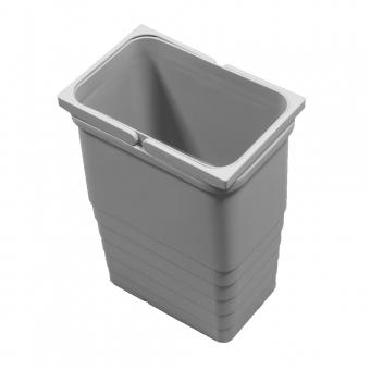 Abfallsammler 8 Liter, H 310 mm hellgrau