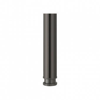 Tischfuß Rondella, Stahl - zylindrisch - schwarz - ø 60 mm - H 690 mm schwarz - 690 mm - ø 60 mm