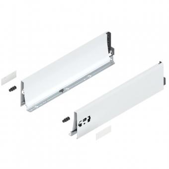 Tandembox antaro Zarge K (115 mm) NL 270-650 mm, weiß