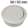 Kunststoff-Kabeldurchlass weiss 80/93 mm Kabeldurchlass Kunststoff weiss 80/93 mm