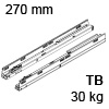578.2701M Tandembox Korpusschiene für Tip-On Blumotion TBX Schienen TipOn Blum., 30 kg / NL 270 mm