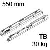 578.5501M Tandembox Korpusschiene für Tip-On Blumotion TBX Schienen TipOn Blum., 30 kg / NL 550 mm