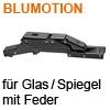 BLUMOTION CRISTALLO Scharnier 110° gedämpft, onyxschwarz 71B4500C Cristallo Scharnier, gedämpft - schwarz