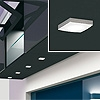 Domus LED-Spot GLAM Grau met. Kaltlicht Glam LED Spot grau met. kalt