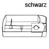 Schwenkschale Swing B 300 x H 46,5 mm, schwarz Drehbehälter Swing, Kst. schwarz