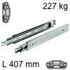 Kugelvollauszug Accuride 9301, bis 227 kg Schwerlastschienen für Einbaulänge 407 mm, Tragkraft 227 kg