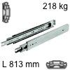 Kugelvollauszug Accuride 9301, bis 227 kg Schwerlastschienen für Einbaulänge 813 mm, Tragkraft 218 kg