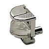 Glasbodenträger Alfa Stop zum Stecken für Glasstärke 6-10 mm Glashalter Alfa Stop Steck 6-10 mm