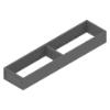ZC7S450RS1 AMBIA-LINE Rahmen Stahldesign oriongrau Ambia Stahlrahmen L422xB100xH51 mm grau