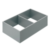 ZC7F400RSP AMBIA-LINE Rahmen Stahldesign oriongrau Ambia Stahlrahmen L370xB218xH111 mm grau