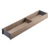 ZC7S500RH1 AMBIA-LINE Rahmen Holzdesign Nebraska Ambia Rahmen L472xB100xH50 mm, Nebr.Eiche/Grau