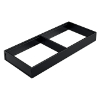 ZC7S500RS2 AMBIA-LINE Rahmen Stahldesign terraschwarz Ambia Stahlrahmen L472xB200xH51 mm schwarz