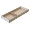 ZC7S550RH2 AMBIA-LINE Rahmen Holzdesign Bardolino Ambia Rahmen L522xB200xH50 mm, Bard.Eiche/Weiß
