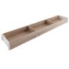 ZC7S650RH1 AMBIA-LINE Rahmen Holzdesign Bardolino Ambia Rahmen Bard.Eiche/SW - L 622 x B 100 x H 50 mm