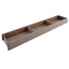 ZC7S650RH1 AMBIA-LINE Rahmen Holzdesign Nebraska Ambia Rahmen Nebr.Eiche/OG - L 622 x B 100 x H 50 mm