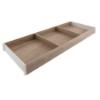 ZC7S650RH2 AMBIA-LINE Rahmen Holzdesign Bardolino Ambia Rahmen Bard.Eiche/SW - L 622 x B 200 x H 50 mm