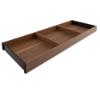 ZC7S650RH2 (55) AMBIA-LINE Rahmen Holzdesign Tennessee Ambia Rahmen L622xB200xH50 mm, Ten.Nuss/Schwarz