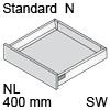 TBX antaro Standard N Bausatz NL 400 mm, seidenweiß antaro Set N - 400 / 68 mm, SW