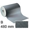 Antirutschmatte hellgrau - 480 mm breit B 480 mm | hellgrau